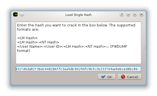 Cracking LM hashes with rainbow tables | phillips321 co uk